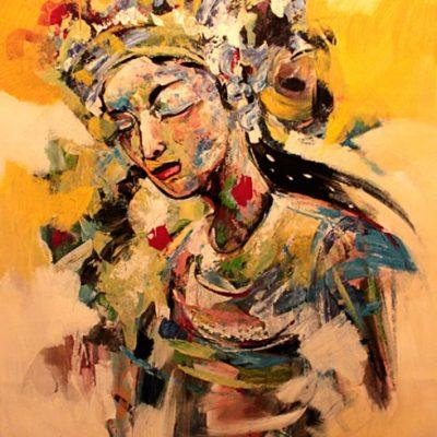 "The Dancer (39"" x 47"")"