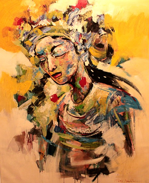 "The Dancer (39"" x 47"")"