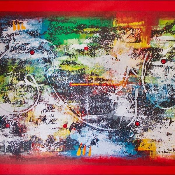 "The Flute 52.75"" x 33"""