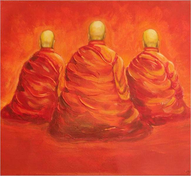 "Meditation 23"" x 31"""
